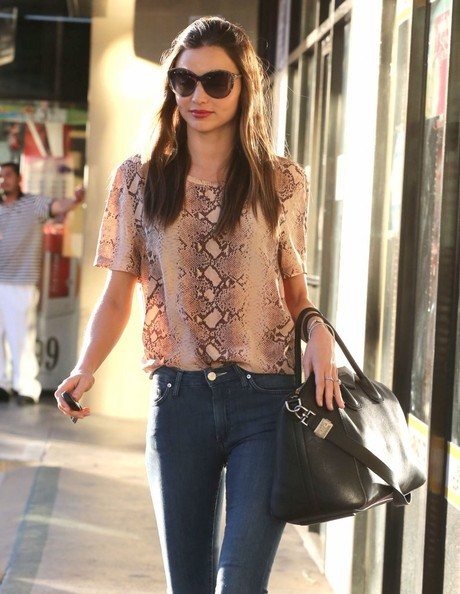 More Pics of Miranda Kerr Blazer (4 of 37) - Miranda Kerr Lookbook - StyleBistro