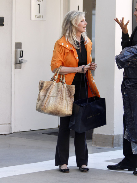 More Pics of Morgan Fairchild Exotic Skin Tote (1 of 7) - Morgan Fairchild Lookbook - StyleBistro