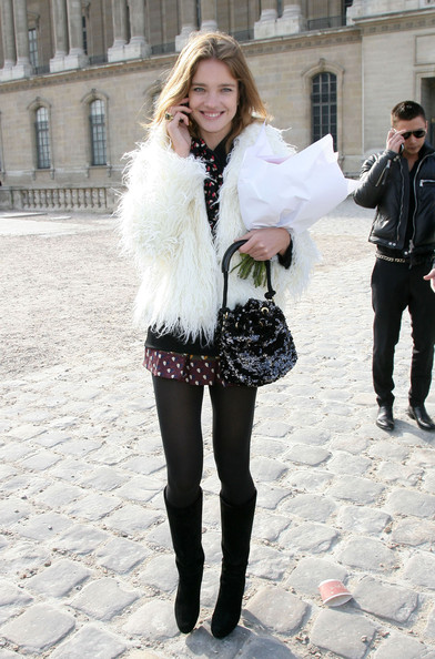 Natalia Vodianova Sequined Purse