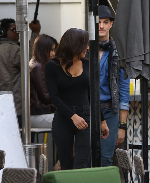 Naya Rivera Scoopneck Sweater