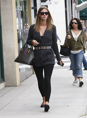 Nicky Hilton was spotted out in Beverly Hills doing some lite shopping.
