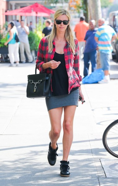 Nicky Hilton Flannel Shirt