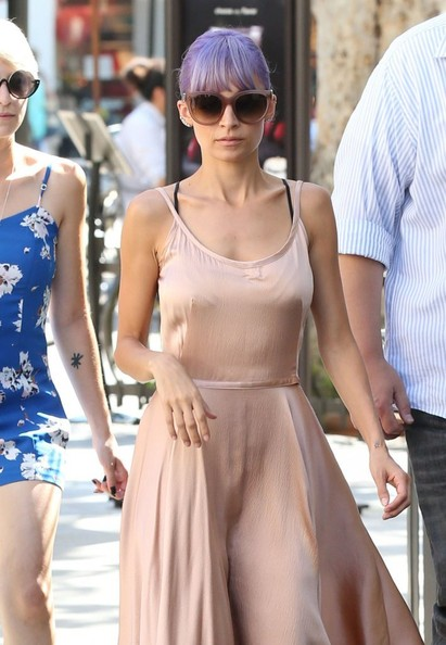 Nicole Richie Oversized Sunglasses