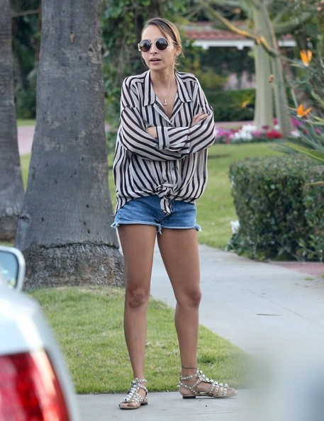Nicole Richie Gladiator Sandals