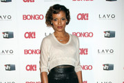 Selita Ebanks Is Super Sexy in an Elizabeth and James Skirt