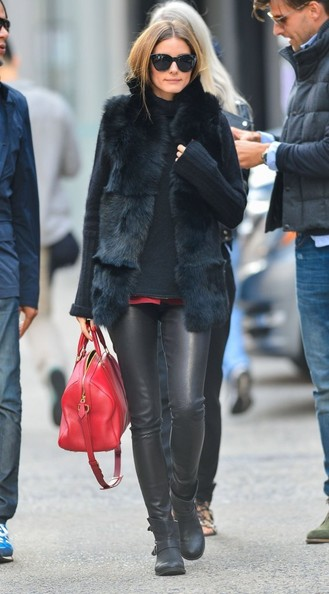 More Pics of Olivia Palermo Flat Boots (1 of 5) - Flat Boots Lookbook - StyleBistro