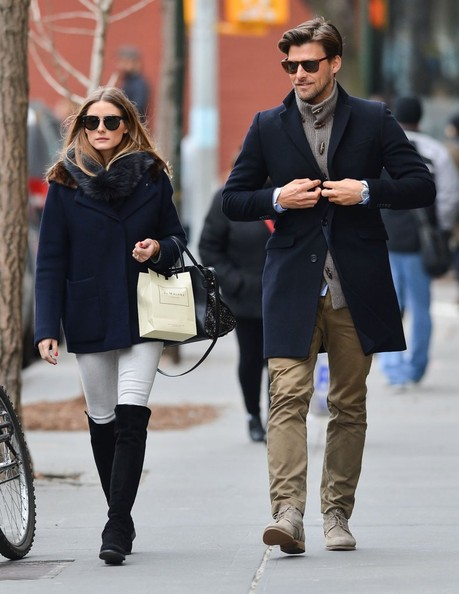 e545a77e84e4 Olivia Palermo s Over-the-Knee Boots and Winter Coat - You Voted ...