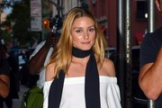Olivia Palermo Solid Scarf