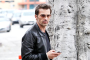Olivier Martinez Leather Jacket
