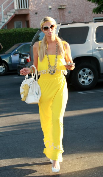 More Pics of Paris Hilton Silver Chain (1 of 19) - Paris Hilton Lookbook - StyleBistro