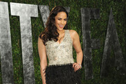 Paula Patton's Feathered Oscars Party Dress