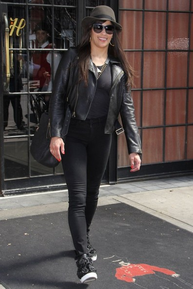 Paula Patton Leather Jacket
