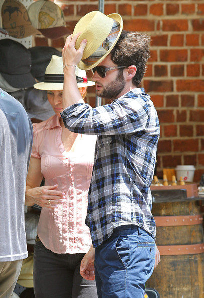 Penn Badgley Button Down Shirt