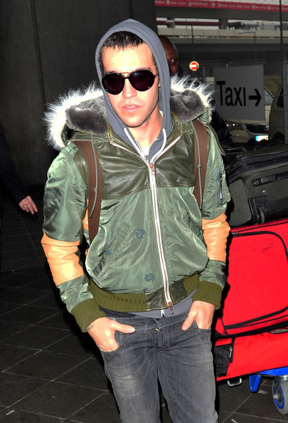 Pete Wentz Aviator Sunglasses