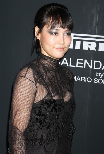 More Pics of Rinko Kikuchi Little Black Dress (1 of 6) - Rinko Kikuchi Lookbook - StyleBistro