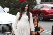 Mason Disick and Kourtney Kardashian Photo