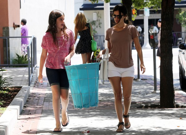 Rachel Bilson Denim Shorts
