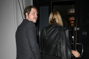 Rachel Zoe Rodger Berman Celebrities Dine Out at Craig's Restaurant