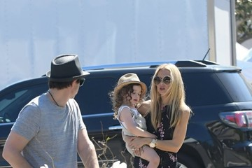 Rachel Zoe Rodger Berman Rachel Zoe and Her Family Enjoy the Farmer's Market in Los Angeles