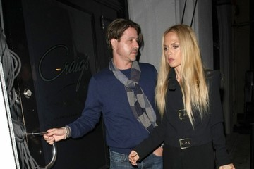 Rachel Zoe Roger Berman Celebrities Dine Out at Craig's Restaurant