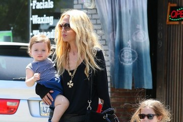 Rachel Zoe Skyler Berman Rachel Zoe Takes Her Boys to Lunch
