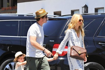 Rachel Zoe Skyler Berman Rachel Zoe and Her Family Grab Lunch in LA
