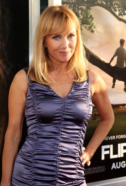 Rebecca De Mornay Medium Straight Cut with Bangs