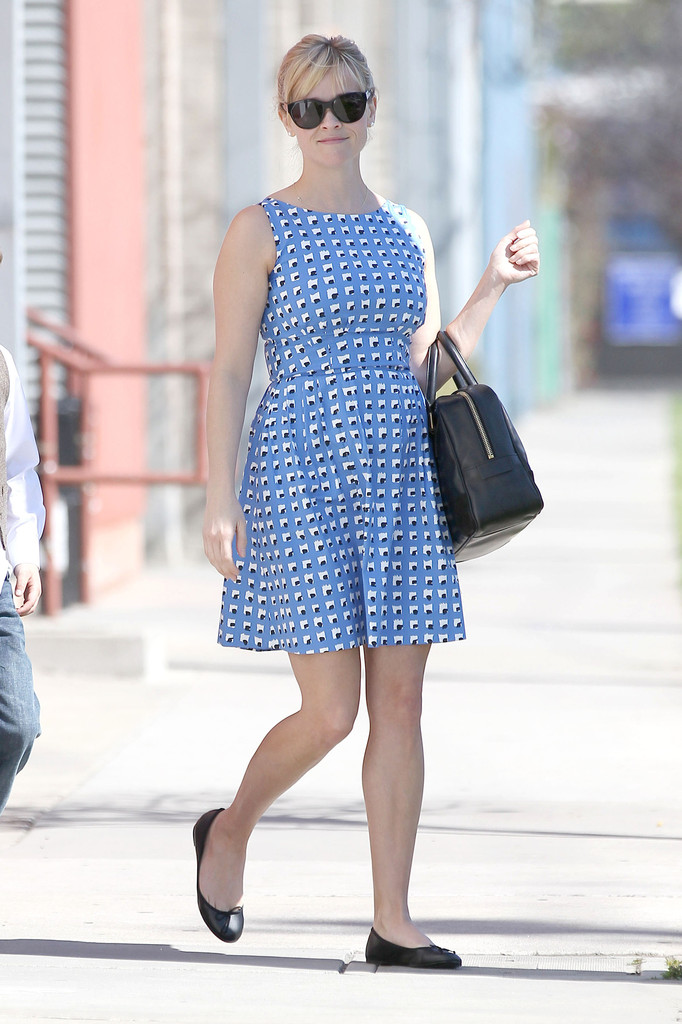 Reese Witherspoon Ballet Flats Ballet Flats Lookbook