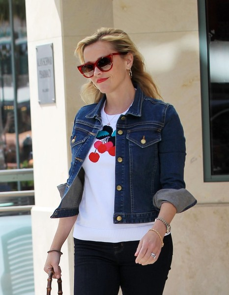 More Pics of Reese Witherspoon Skinny Jeans (3 of 25) - Jeans Lookbook - StyleBistro