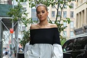 Rita Ora Off-the-Shoulder Top
