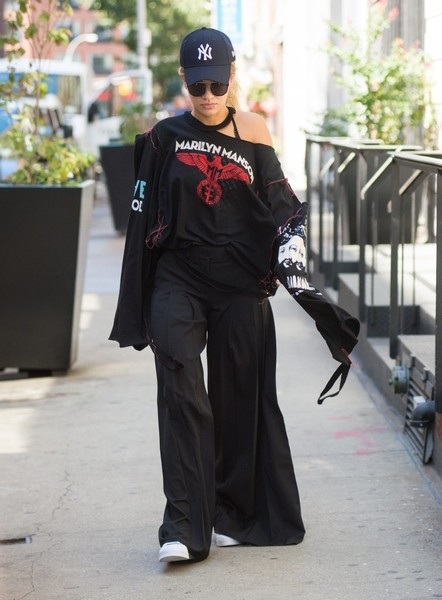 Rita Ora Long Sleeve T-Shirt