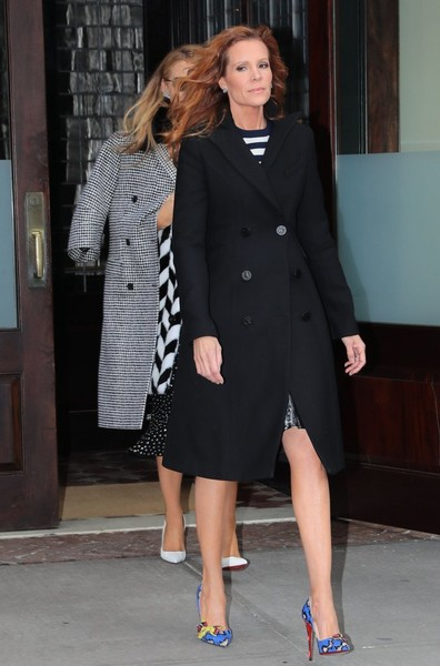 Robyn Lively Wool Coat
