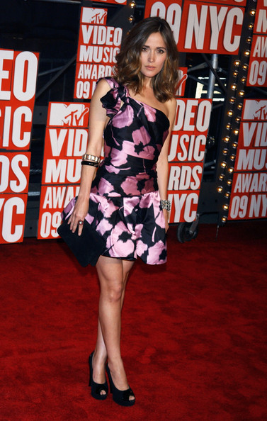 Rose Byrne Peep Toe Pumps