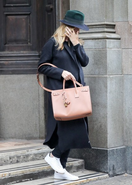 Rosie Huntington-Whiteley Leather Sneakers