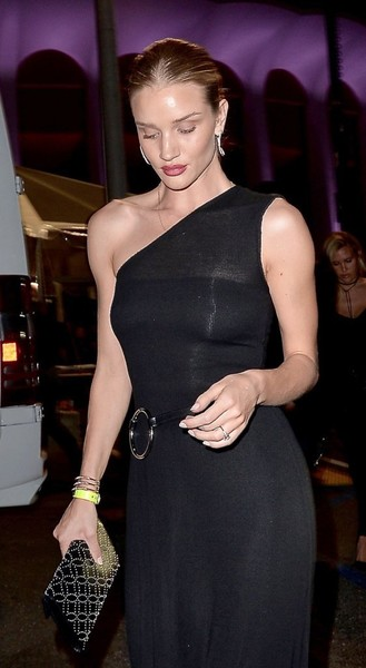 Rosie Huntington-Whiteley Studded Clutch