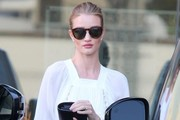 Rosie Huntington-Whiteley Leather Clutch