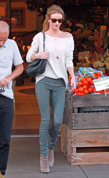 Rosie Huntington-Whiteley Boatneck Sweater