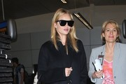 Rosie Huntington-Whiteley Wool Coat