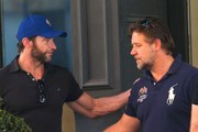 Russell Crowe and Hugh Jackman Photo