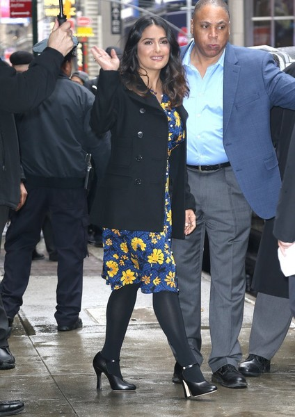 Salma Hayek Tights