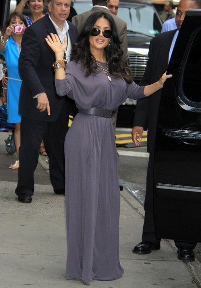 More Pics of Salma Hayek Jumpsuit (2 of 17) - Jumpsuit Lookbook - StyleBistro