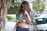 Selena Gomez Crop Top