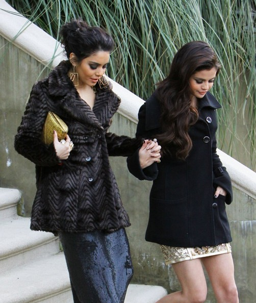 More Pics of Vanessa Hudgens Wool Coat (3 of 30) - Wool Coat Lookbook - StyleBistro
