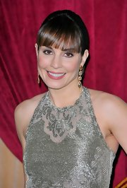 Noomi Rapace wore a sheer berry stain on her lips topped with a little gloss at the LA premiere of 'Sherlock Holmes 2: A Game of Shadows.'