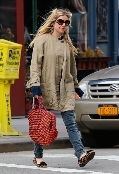 More Pics of Sienna Miller Skinny Jeans (5 of 8) - Sienna Miller Lookbook - StyleBistro