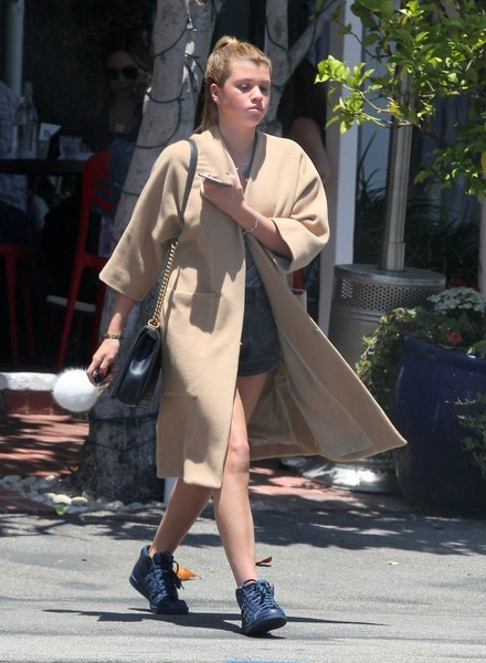 Sofia Richie Wool Coat