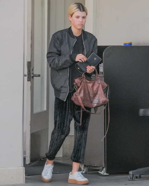 Sofia Richie Leather Tote