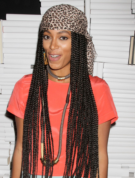 Solange Knowles Hair