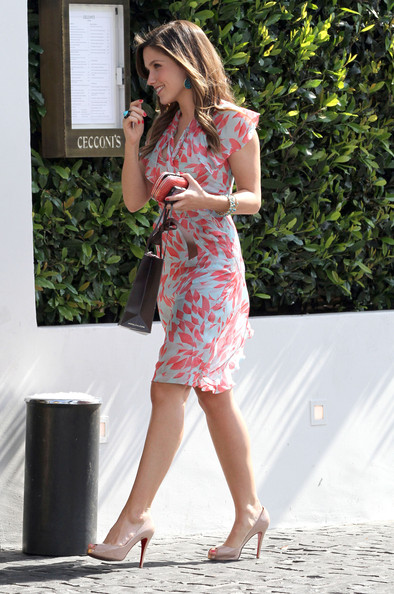 Sophia Bush Platform Pumps