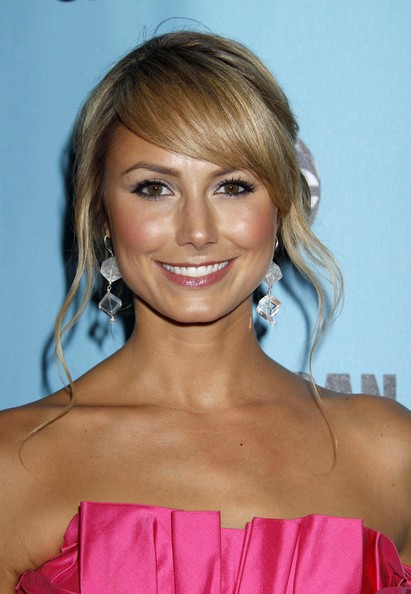 Stacy Keibler Loose Bun